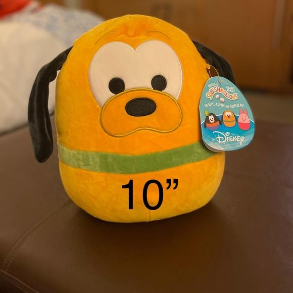 "disney squishmallow 10"" Pluto"